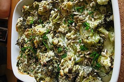 Brokkoli-Schafskäseauflauf 5