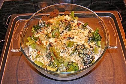 Brokkoli-Schafskäseauflauf 9