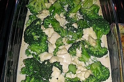 Brokkoli-Schafskäseauflauf 19