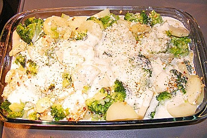 Brokkoli-Schafskäseauflauf 10
