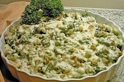 Brokkoli-Schafskäseauflauf 2