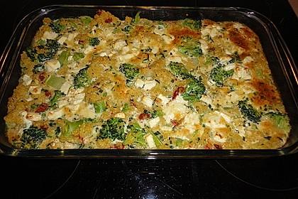 Hirse-Gemüse-Auflauf 14