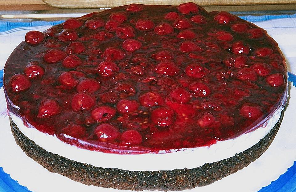 Mohn Quark Torte Von Fabienne Chefkoch De