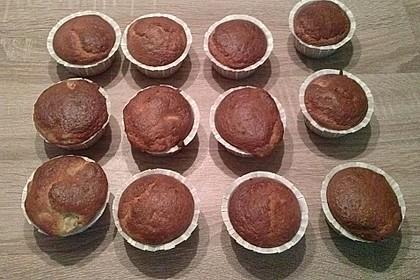Bananen - Joghurt - Muffins 13