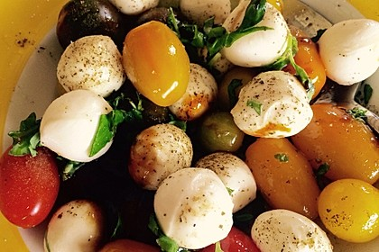 Mozzarella - Tomaten - Salat 44
