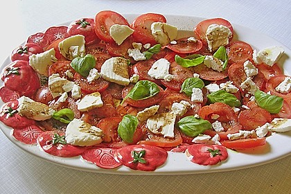 Mozzarella - Tomaten - Salat 41