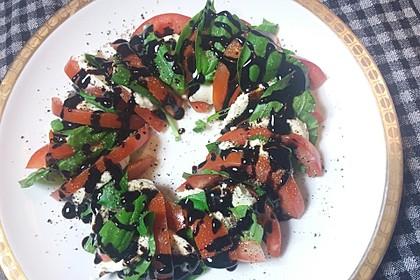 Mozzarella - Tomaten - Salat 80