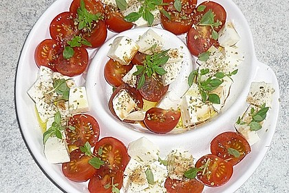 Mozzarella - Tomaten - Salat 7