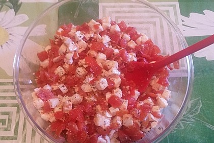 Mozzarella - Tomaten - Salat 82