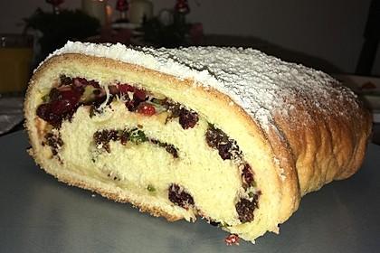 Kuchen zu Weihnachten (Bild)