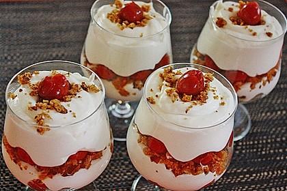 Lebkuchen - Kirsch - Dessert 4