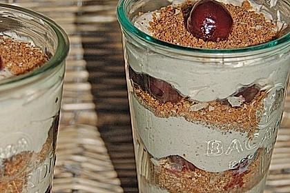 Lebkuchen - Kirsch - Dessert 8