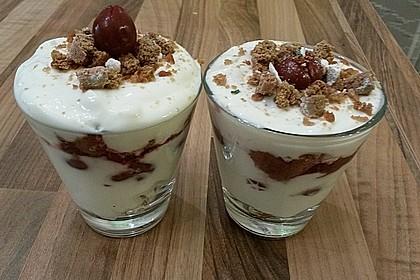 Lebkuchen - Kirsch - Dessert 18