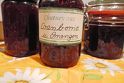 Cranberrie - Chutney zu Gans 4