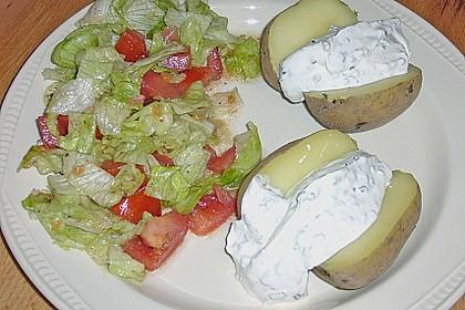 Baked Potatos mit Sour Creme 7