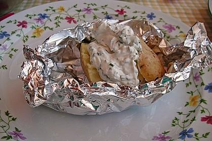 Baked Potatos mit Sour Creme 4