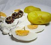 Pellkartoffeln mit pikantem Quark (Bild)