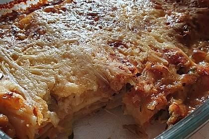 Zucchini - Lasagne ohne Fleisch (Bild)