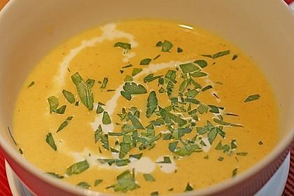 Karotten - Ingwer - Suppe 1