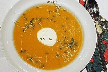 Karotten - Ingwer - Suppe 2