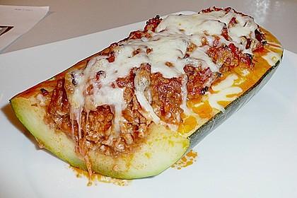 Gefüllte Zucchini 26