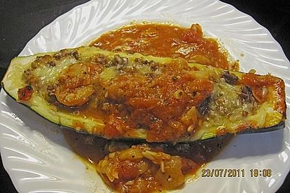 Gefüllte Zucchini 86