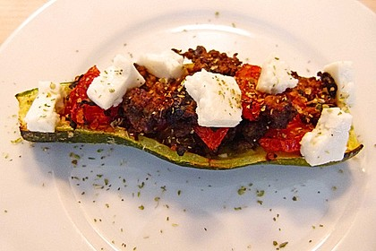 Gefüllte Zucchini 55