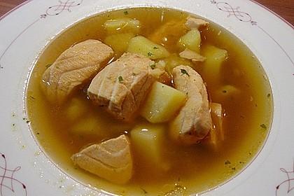 Finnische Lachssuppe 4