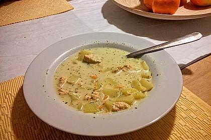 Finnische Lachssuppe 3