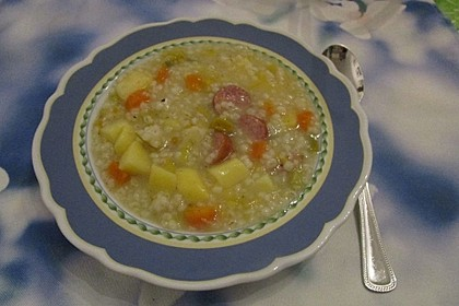 Graupensuppe 8