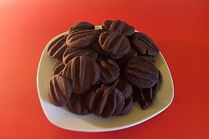 Schokoladenkekse - die Einfachsten 2