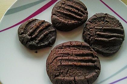 Schokoladenkekse - die Einfachsten 7