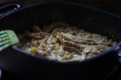 Curry - Sojageschnetzeltes mit Kokossoße 2