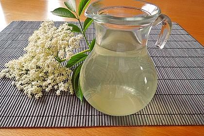 Holunderblüten Limonade 1