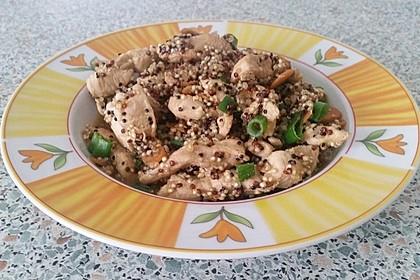 Quinoa - Hähnchen - Pfanne 9