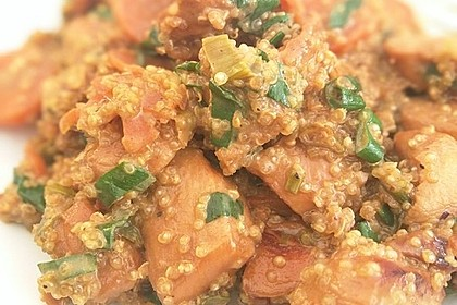 Quinoa - Hähnchen - Pfanne 8