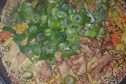 Quinoa - Hähnchen - Pfanne 16