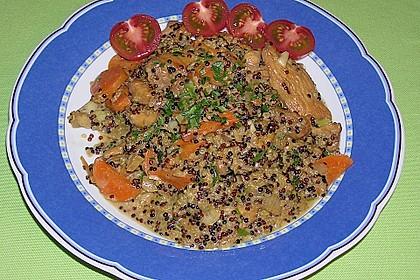 Quinoa - Hähnchen - Pfanne 18