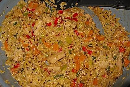 Quinoa - Hähnchen - Pfanne 17