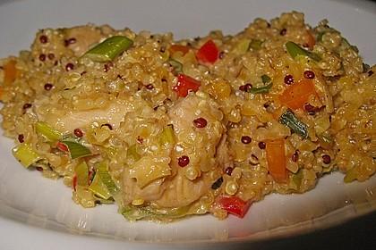 Quinoa - Hähnchen - Pfanne 12