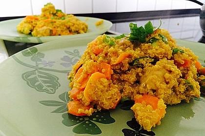 Quinoa - Hähnchen - Pfanne 5
