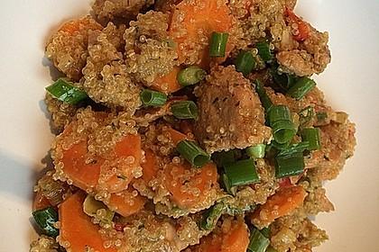 Quinoa - Hähnchen - Pfanne 11