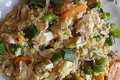 Quinoa - Hähnchen - Pfanne 10