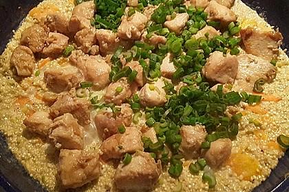Quinoa - Hähnchen - Pfanne 3