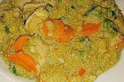 Quinoa - Hähnchen - Pfanne 20