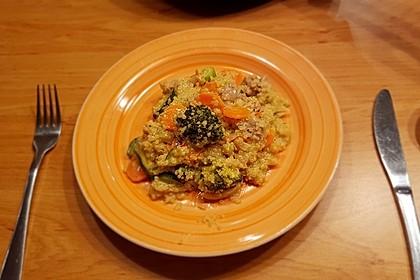 Quinoa - Hähnchen - Pfanne 13