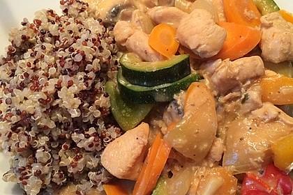 Quinoa - Hähnchen - Pfanne 14