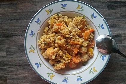 Quinoa - Hähnchen - Pfanne 21