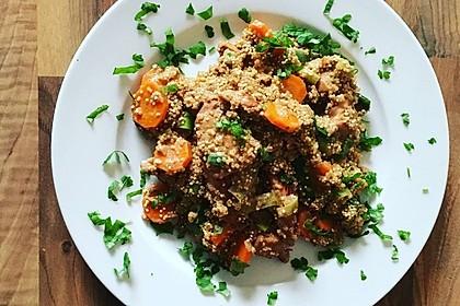 Quinoa - Hähnchen - Pfanne 1