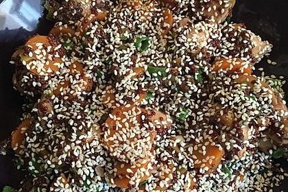 Quinoa - Hähnchen - Pfanne 22
